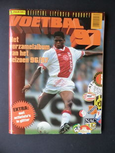 Panini - Voetbal 97 - Complete album - Including original order form.