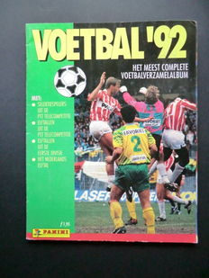 Panini - Voetbal 92 - Complete album - Including order form - Including the rare Panini Eredivisie super poster.