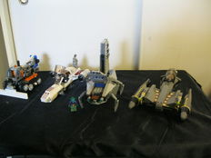 Star Wars / Technic - 5 sets o.a. 8095 + 7961 - General Grievous' Starfighter + Darth Maul's Sith Infiltrator