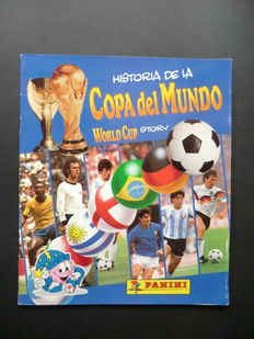 Panini-Copa del Mundo World Cup Story (1994) - Complete album - Including Centerfold with Pelé and Maradona.