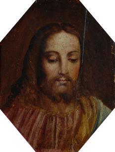 Tuscan school (end of the 16th century) - Christ face
