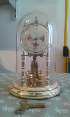 Pendulum desk clock – Kundo brand (West Germany) – From the 1950s.