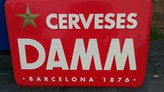 ESTRELLA DAMM plate - Spain - late 20th century / early 21st century
