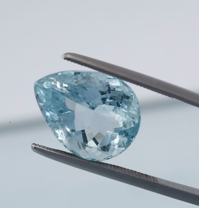 Aquamarine  - 10.77 ct