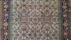 Magnificent Indo Kashmir Carpet - Finely knotted by hand - 223 x 153 cm - Very good condition - Very interesting reserve price!