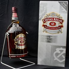 Chivas Regal  4.5 litres - 12 years old with cradle