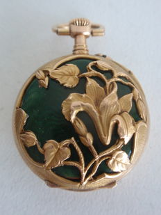 LeCoultre ladies' pocket watch - ca. 1900.