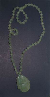 Jade necklace and pendants – China – second half of the 20th century