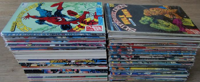 Marvel Super-Helden 1-78 - Complete series - sc - (1981 / 1999)