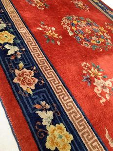 Fantastic Imperial Chinese rug: Kangxi Beijing Aubusson 245 x 150 cm.