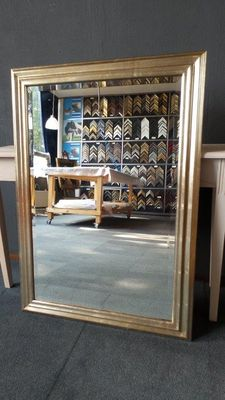 Large mirror with facet - Silver - Wide frame