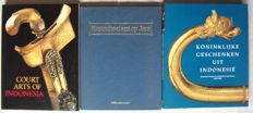Lot with 3 books about colonial art from the Dutch East Indies - 1986/1995.