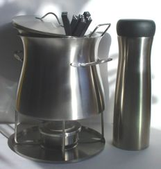 Bodum fondue set insulated box in Tuvalu and Bodum stainless steel
