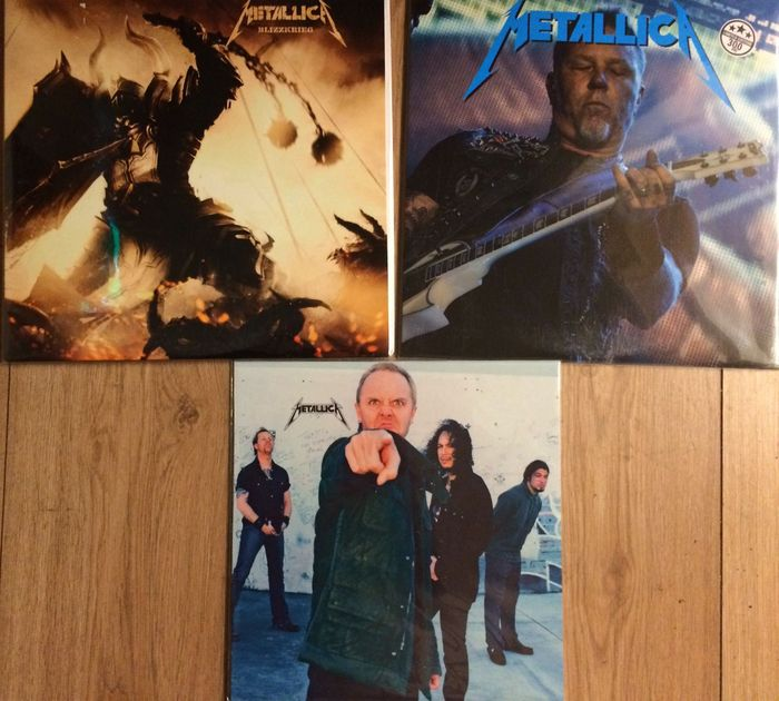 Metallica LP set || 3 LP's || Limited editions || Still in sealing