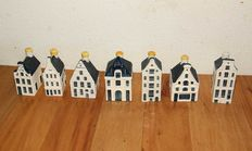 KLM - houses, 7 pieces