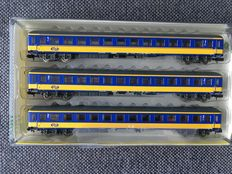Minitrix N -  15908 - Carriages set ICK of the NS