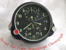 Military watch from MIG-21 - chronograph watch 1941-1992