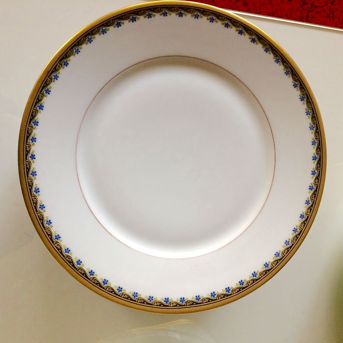 Partial porcelain table set by paul pastaud limoges catawiki for Nfpa 99 table 5 1 11