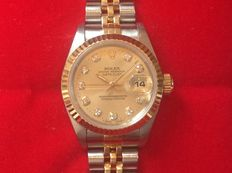 Rolex Oyster Perpetual Datejust ref.: 69173 – ladies watch – year 1996