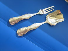 Silver ginger set, the Netherlands 1862