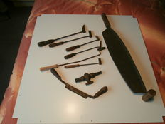 Old and Antique tools (9 pieces)