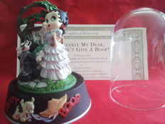 Franklin mint, betty boop, - i don't give a boop