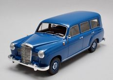 BoS - Scale 1/18 - Mercedes-Benz 180 Universal - Blue