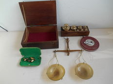 Brass/horn balance Germany - measuring tape - from 1930