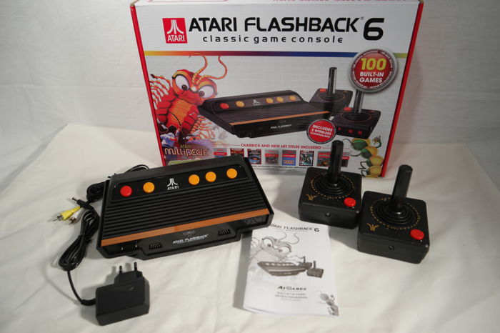Atari flashback 6 classic game console with 100 built in games catawiki - Atari flashback 3 classic game console ...