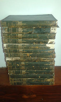 The Works of William Makepeace Thackeray Complete in 14 Volumes - 1899-1901