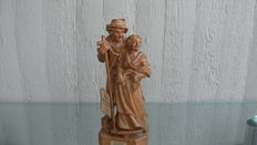 Wooden figurine - hand carved