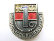 Third Reich - Badge Münsterische Oktober Messe 1933.