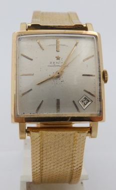 ZENITH. Men's wristwatch. Circa 1950.