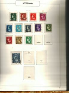 The Netherlands and Belgium – batch with overseas territories and railway stamps.
