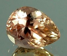 Orange Spodumene 21.84 Carats.