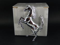 Beautiful Genuine Ferrari Prancing Horse Badge boxed with packing - 75 x 55 mm