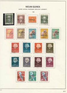 Dutch-New-Guinee 1950/1962 – Complete collection stamps and FDCs + miscellaneous.