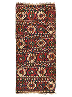 Antique Shirvan Kilim from Azerbaijani - 420 x 185 cm