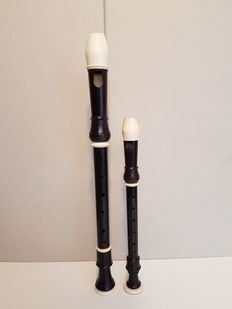 Solo soprano and Alto recorder by Hans Coolsma