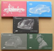Set of 5 Books from the Porsche Museum