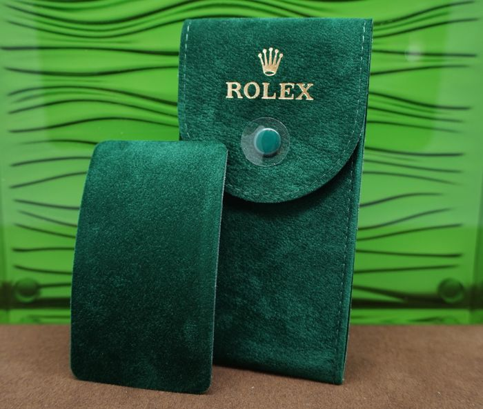 Rolex travel pouch, service bag