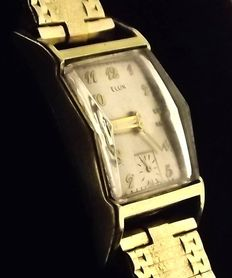 "ELGIN  ""Lord Elgin"" - Art Deco Men's watch - 1950 -Cal.: 626"