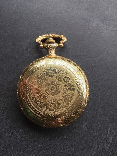 Collection pocket watch - gold-plated