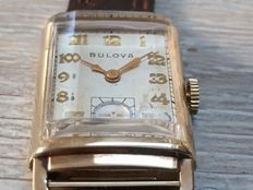 "Bulova ""President"" Mens watch Cal 7AP Art Déco 1930's"