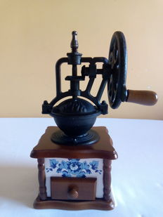 Antique Spanish coffee and spices grinder.