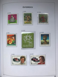 Austria 1990/2010 - Collection in Davo album with case