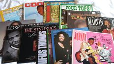 Nice lof of Soul Artists - 11 LP's and 1 double LP (Arthur Alexander, Sam Cooke, Eddie Floyd, The Four Tops, Aretha Franklin, Marvin Gaye, Thelma Houston, Edwin Starr, Stylistics, Rufus Thomas, Three Degrees & Johnny Guitar Watson)