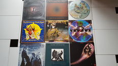 Lot of 30 LP Albums including 1 Picture Album in various Hard Rock Stlyles