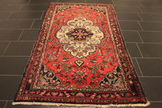 Persian carpet Lilian sarough 130 x 225 cm natural colours Made in Iran around 1960