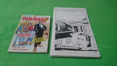 Pinaglia, Gianni - 64x original pages - a full story + a comic album - Paninaro 15 - (1987)
